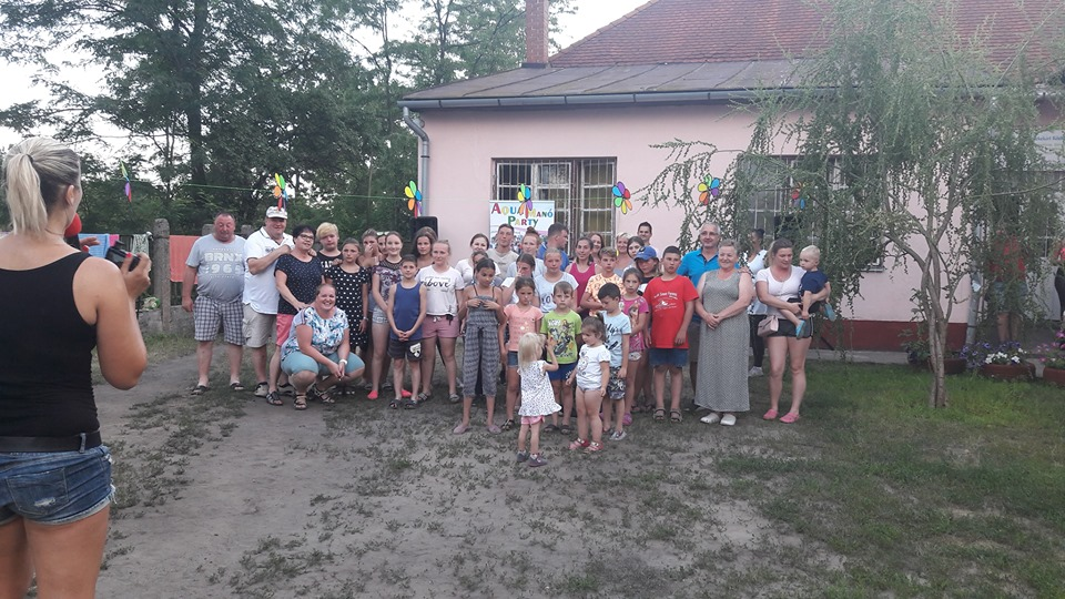 """""""Összefogás a Gyermekekért"""" halápi tábor 2019"""
